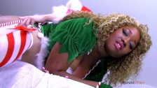 Mrs Cluas diciplines me for being a bad Santas helper / Nina Rivera