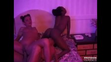Black and Sexy Shares a Cock With Eva Roberts