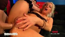 Anal and cum Session with mom Jaqueline - German Goo Girls