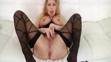 Busty Blonde Britney Amber fucked hard