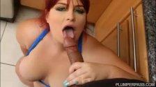 Sexy BBW In Spandex Fucks Latino Stud