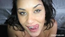 Hot POV fucking with brunette pornstar Charley Chase