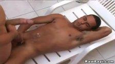 Horny Latino Gay Hardcore Bareback  Anal Pounding