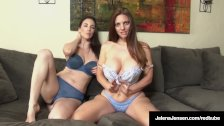 JOI Duo, Jelena Jensen & Mindi Minx Say NO CUM B4 It's Time!