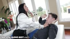 MommyBlowsBest Latina Stepmom Throats Son