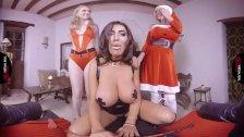 VirtualRealPorn Merry christmas babe