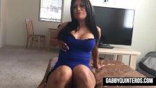 Cum for Gabby Quinteros - duration 9:29