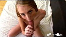 Tiny4k Petite Jenna Marie practicing her fucking and dick sucking skills