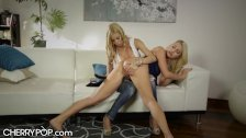 Rebel Stepdaughter Spanked by Mommy