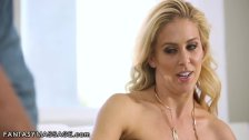 Manipulative Son Busts in Stepmoms Mouth!