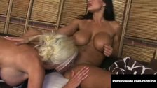Beautiful Lesbian Duo Puma Swede & Lisa Ann Lick Some Pussy!
