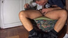 Hairy Daddy Oral And Anal