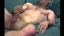 Mature Man Steve Jerks Off