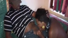 threesome fuck orgy with african babe