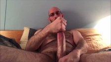 Jerking Big Cut Cock