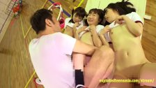 Cute Jav Idol Teens Bibi Yuna Ayu Fucked In The Gym Petite Gits With Small