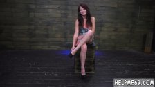 Extremely tight Helpless teenager Kaisey