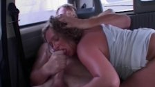 MomsWithBoys Matue Blonde Fucked In A Van