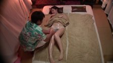 Subtitles Japanese busty massage clin...