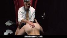 Mormonboyz - Sexy older man opens up Mormon boys bubble butt