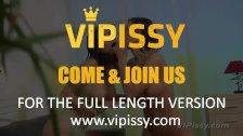 VIPissy - Double Brunette Pissing