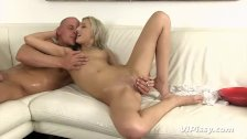 VIPissy - Blonde babe Katy Rose turns games into piss fuelled sex session