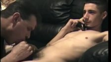 Vinnie Helps Straight Boy Cory Cum