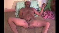 Homemade Video of Mature Amateur Eddie Jacking Off
