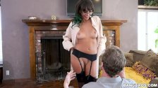 Janice Griffith Knows How To Ride Dick