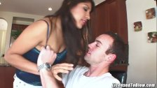 Laurie Vargas fucked up the ass while masturbating