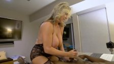 Hot Stepmom Enjoys A Big Black Cock
