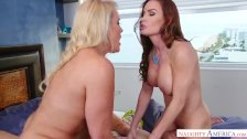 Hot Step Mom Alexis Golden, Diamond Foxxx likes my young cock