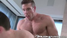 FalconStudios Alex Mecum Makes Dustin Blow his Load!
