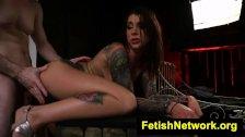 HostelXXX Felicity Feline hotel torment