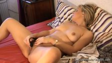 Babe Masturbates her Fleshy Pussy and Engorged Clit to Orgasm