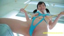 Amateur Suzuki Asahiis Appears In Her Debut Movie Teasing In Swimsuit