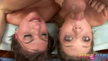PervCity Deepthroating Sluts Jessie Andrews and Cassandra Nix