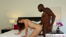 Black is Better -Sexy teen Ally Tate gets fucked by Security's bbc