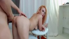 Blonde Webcam Babe Ride and Suck a Hard Cock