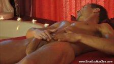 Erotic gay self massage that