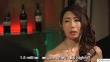JAV wife slave auction for Ayumi Shinoda CMNF ENF