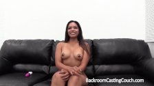 Busty Interracial Teen Assfuck and Anal Creampie