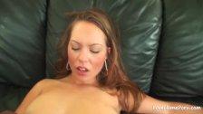 Hot brunette loves to get rammed in POV