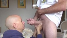 Hung 9 Inch Getting Sucked