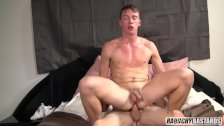 Blond Virgin Teen Tag Teamed Bareback By Dad And Friend