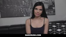 DadCrush - Hot Stepdaughter Learns To Suck Cock