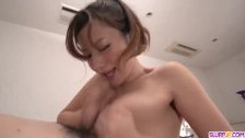Reon Otowa enjoys a huge dick in her mouth