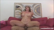 Pretty blonde is filmed while getting fucked