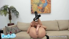 Kelsi Monroe big ass brunette spreading her ass and vagina.