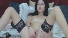 Naughty College Babe Plays Her Clits